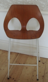 Scandinavian, retro bar stool.