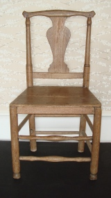 Ash & elm country chair, late 18th century.