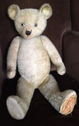 Vintage English teddy.